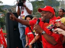 En una concentracion Civico Militar en Fuerte Tiuna-Fidel Ernesto Vásquez