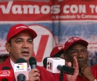 Candidatos de Psuv para el área metropolitana de Caracas.-Fidel Ernesto Vásquez