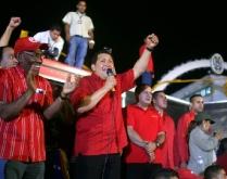 Acto de respaldo al Presidente Hugo Chávez-Fidel Ernesto Vásquez