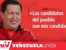 Los Candidatos delPueblo son mis Candidatos-Chávez-Fidel Ernesto Vásquez .jpg