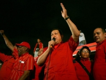 Acto en respaldo al Presidente-Fidel Ernesto Vásquez