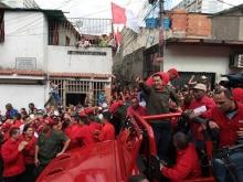 presidente chavez en el 23 de enero-Fidel Ernesto Vásquez