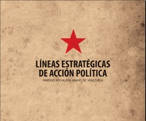 Cinco Lineas estrategicas de Accion Politica-Fidel Ernesto Vasquez