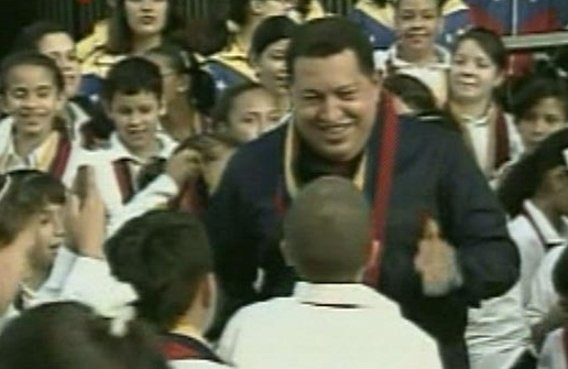 Presidente Chavez-Fidel Ernesto Vasquez